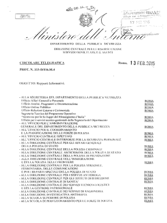 compilazione rapporti informativi 2014 agenti ass e sovr