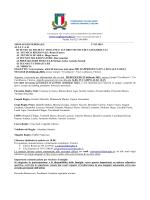 Convocazione Gigli - 25/02 Firenze Cavallaccio