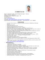 curriculum - golden team ceccarelli
