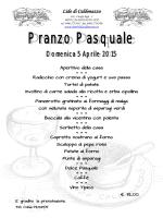Pranzo Pasquale 2015