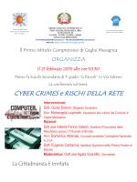 CYBER CRIMES e RISCHI DELLA RETE