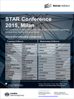 STAR Conference 2015, Milan