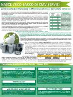 Calendario distribuzione Eco-Sacchi rosa mese MARZO