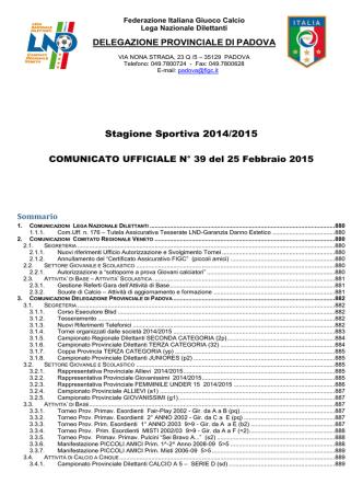 Com_N 39 - FIGC Veneto