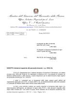 dotazioni organico a.s. 15-16
