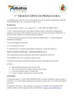 1° TROFEO OPEN DI PRIMAVERA