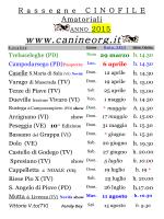 Calendario 2015 stampabile