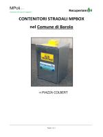 CONTENITORI STRADALI MPBOX BAROLO