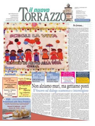 31/01/2015 - Il Nuovo Torrazzo
