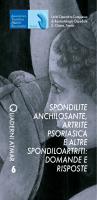 spondilite anchilosante, artrite psoriasica e altre spondiloartriti
