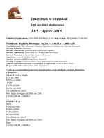dressageaprile15.pdf - FISE Comitato Regionale Calabria