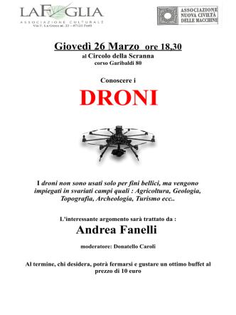 Conoscere i droni - Informagiovani del Comune di Forlì