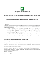 Disposizioni applicative