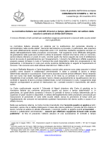 Politica giudiziaria-Comunicato Mascolo