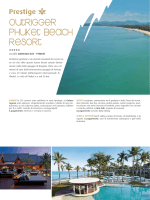 54-55 Outrigger Phuket Beach Resort Bangtao Bay - Phuket