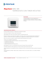 NRG-DM Schede tecniche - Pentair Thermal Controls