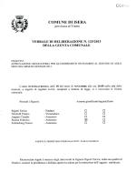 Delibera n. 125/2013 - Graduatoria asilo nido