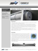Modello TG 80/3 R EC-0 Brushless