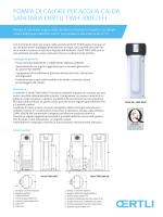 PomPa di calore Per acqua calda sanitaria oertli tWH 300e / eH