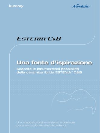 brochure ESTENIA - Kuraray Dental