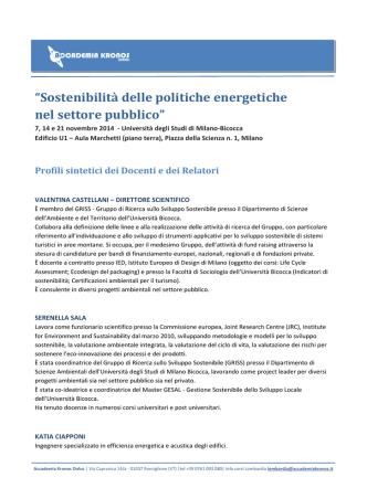 CV Sintetici Relatori (pdf)