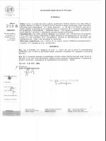 DR n. 2306 di parziale rettifica al Modello