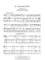 sheet music - The Jerusalem Passion