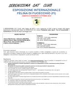 invito completo - Serenissima Cat Club