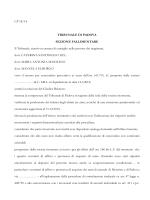 Rassegna Lavoro aggiornata al 16/03/2015