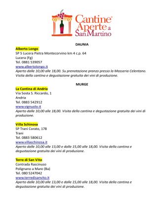 Calendario 22-29 marzo 2015
