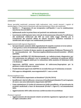 Classifiche FERRANDINI 2015