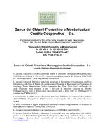 Banca del Chianti Fiorentino e Monteriggioni Credito Cooperativo – Sc