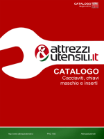CATALOGO - Attrezzi e utensili
