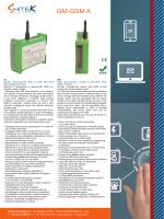 GM GSM A scheda tecnica