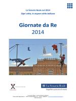 La Venaria Reale_Giornate da Re 2014.pub