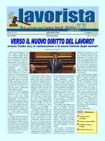 il lavorista VI n. 4 - CSDDL.it - Centro Studi Diritto Dei Lavori