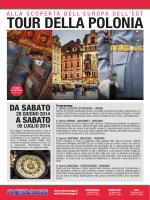 TOUR DELLA POLONIA - Newsletter