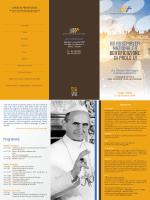 • HII ASSEMBLEA NAZIONALE ~ BEATIFICAZIONE DI PAOLO UI