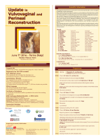 Update in Vulvovaginal and Perineal Reconstruction Update in