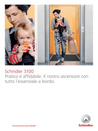 Brochure Schindler 3100