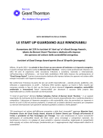 le start up guardano alle rinnovabili