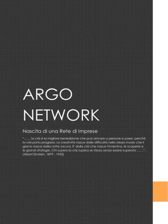 ARGO NETWORK - Horizon Engineering