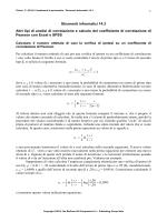 Strumenti Informatici 14.3 Correlazione