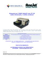 ANAJET FP 125 Stampante per T.SHIRT usata