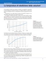 La temperatura di ebollizione delle soluzioni