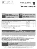 IMU E TASI 2014 - Trentino Riscossioni SpA
