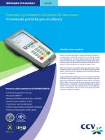 Potenza e prestazioni nel palmo di una mano Il terminale portatile