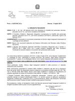 Prot. n. 42/5210/C.03.a Verona, 4 luglio 2014 IL DIRIGENTE