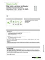 idrojoint eco Pu - the Kerakoll products area