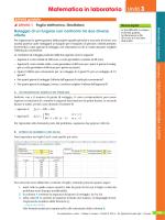 Confronto di due offerte, con Excel e GeoGebra (Sasso)